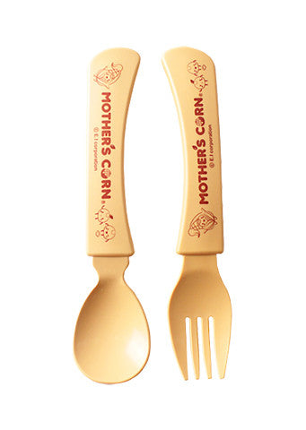 Mother's Corn</br>Junior Fork & Spoon Set
