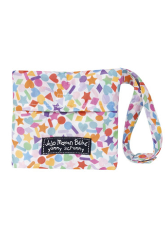 JoJo Maman Bebe</br>Wipe-Clean Pocket Highchair Confetti Print