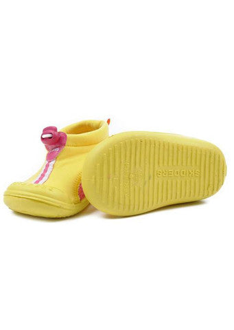 Skidders</br>Sun Grip Shoe - Yellow/Pink