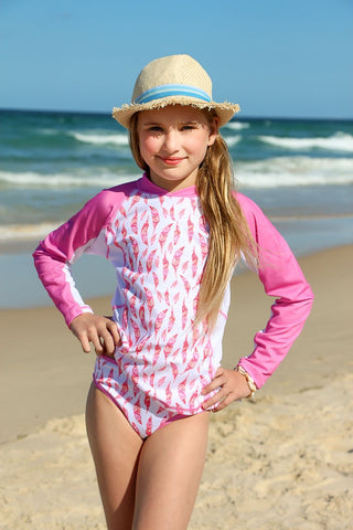 Sun Emporium </br> 2 piece Sun shirt and bikini