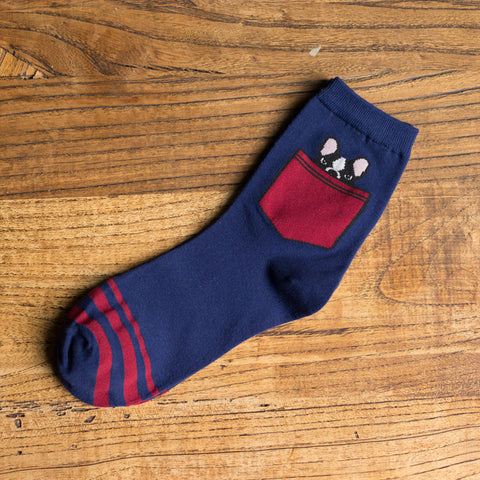 Pocket Pug Socks