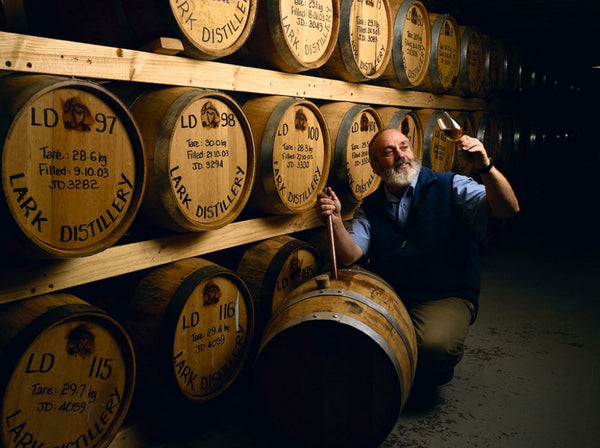 bill lark, lark distillery