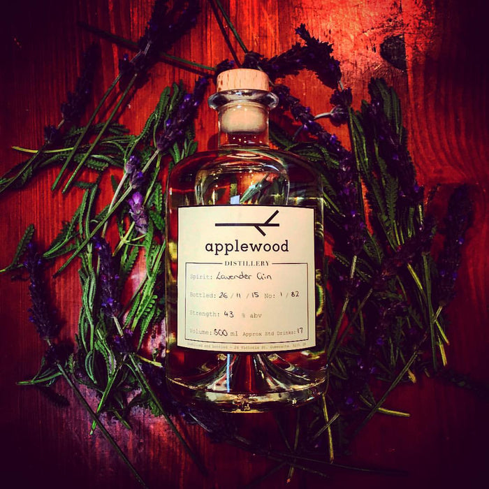 Lavender Gin 500ml - Applewood Distillery