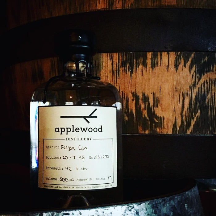 Feijoa Gin 500ml - Applewood Distillery