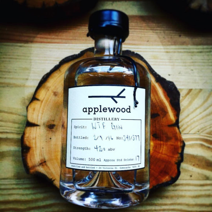 WTF Gin 500ml - Applewood Distillery