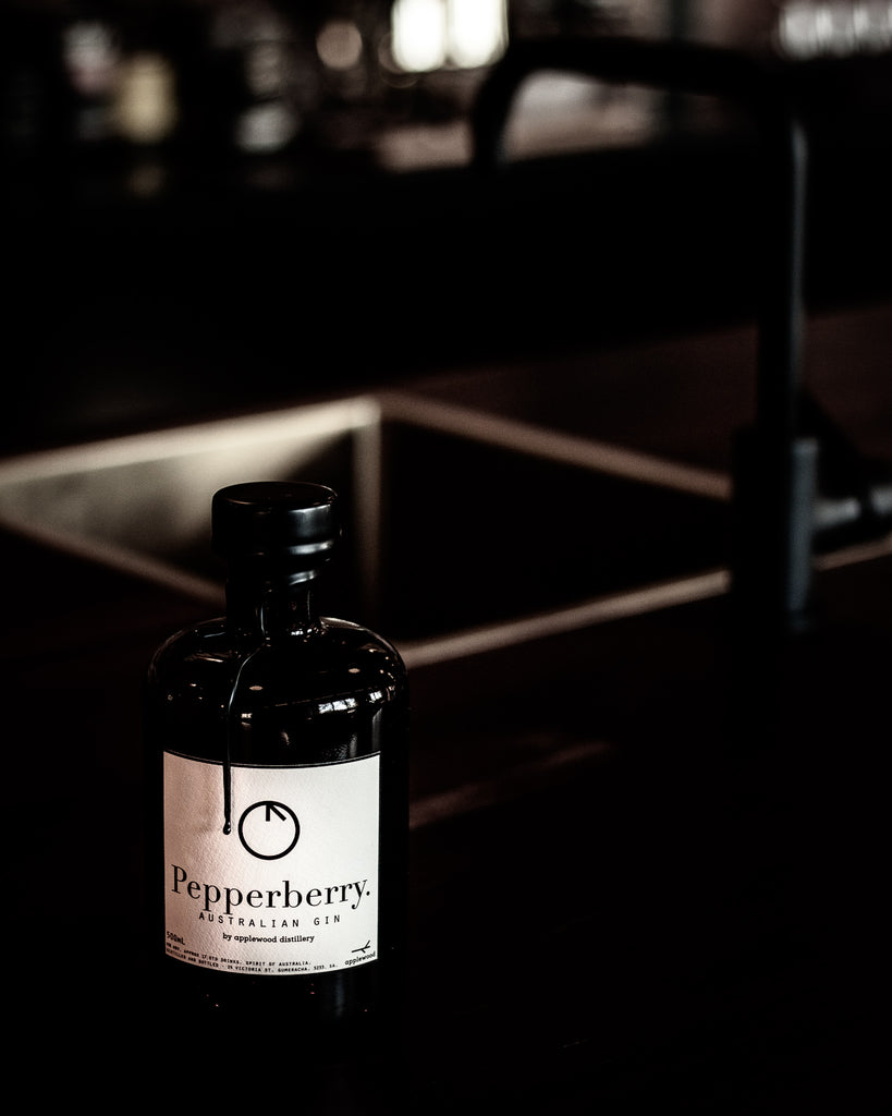 pepperberry gin - Applewood Distillery