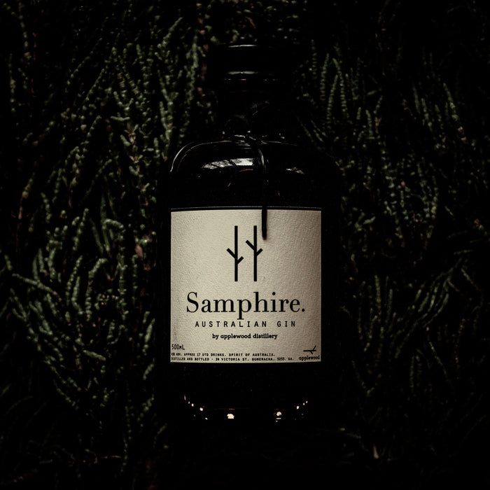 samphire gin - Applewood Distillery
