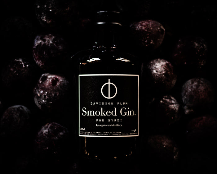 smoked gin - Applewood Distillery