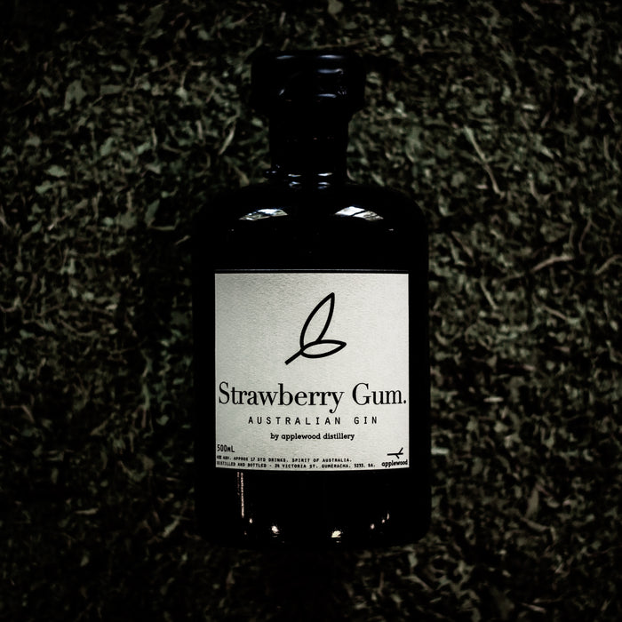 strawberry gum gin - Applewood Distillery