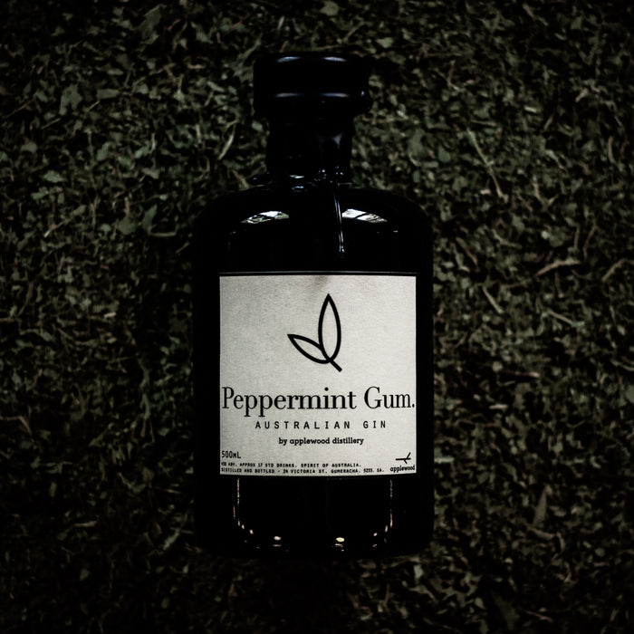 peppermint gum gin - Applewood Distillery