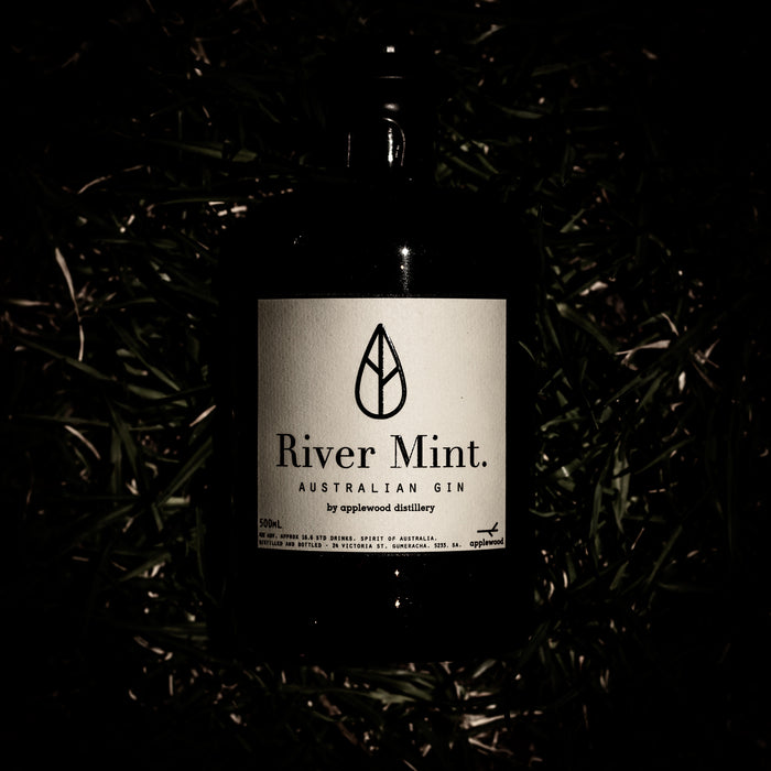 river mint gin - Applewood Distillery