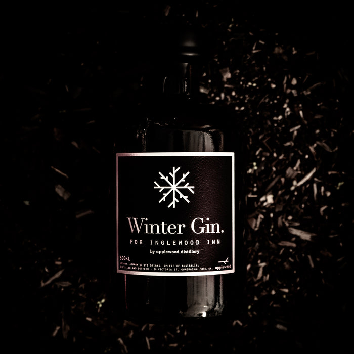 winter gin - Applewood Distillery