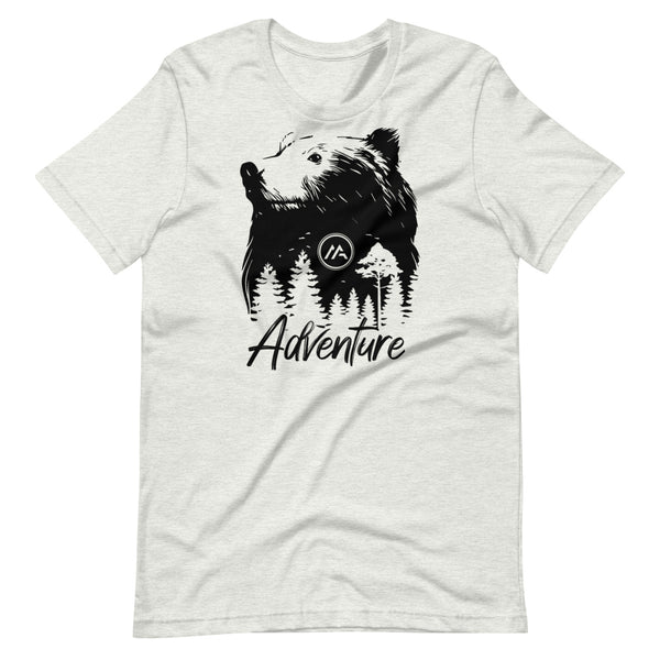Bear Logo Short-Sleeve Unisex T-Shirt