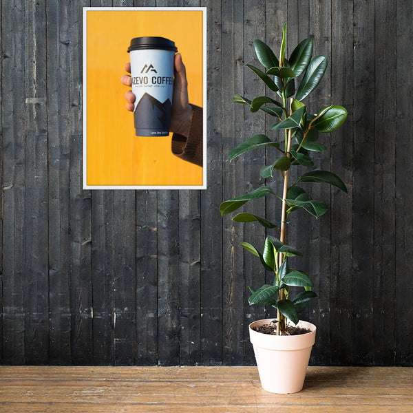 Mazevo Coffee Framed poster