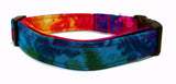 Beautiful Bold Tie Dye Dog Collar (Matching Leash Available)
