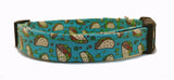 Taco Dog Collar (Matching Leash Available)