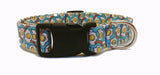 Bacon and Eggs Dog Collar (Matching Leash Available)