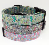 Cactus Dog Collar - The Gordo (Matching Leash Available)