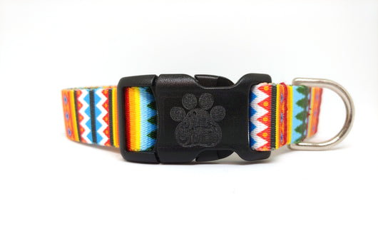 Summer Pines Dog Collar (Matching Leash Available)