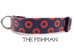 The Fishman - Donut Dog Collar - Phish Dog Collar (Matching Leash Available)