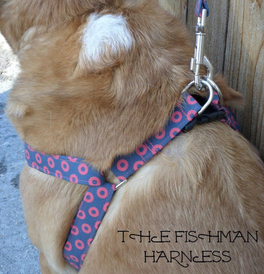The Fishman Dog Harness (Matching Leash Available)