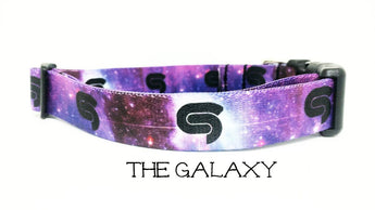 The Galaxy - STS9 Dog Collar - Printed Webbing (Matching Leash Available)