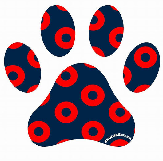 Fishman Donut Paw Sticker