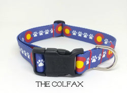 The Colfax - Colorado Dog Collar (Matching Leash Available)
