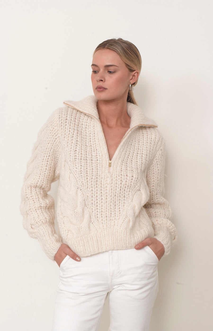 Daria Sweater - Ivory