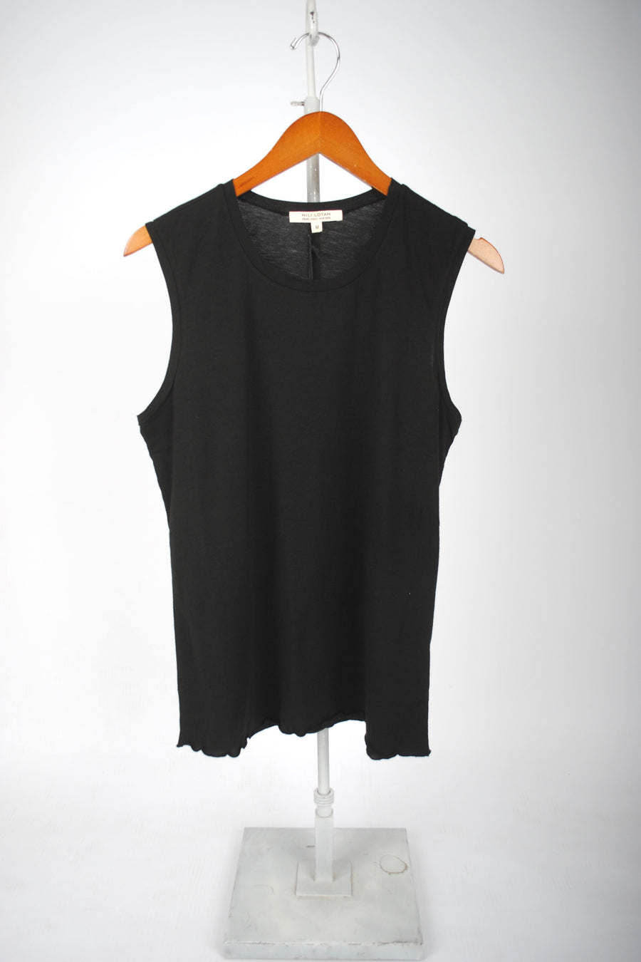 Muscle Tee - WASHED BLACK
