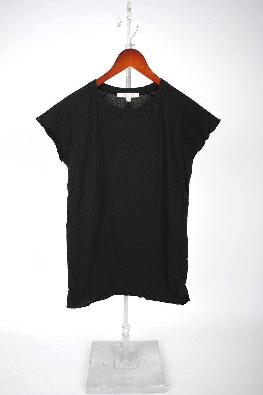 Short-Sleeve Baseball Tee - WASHED BLACK
