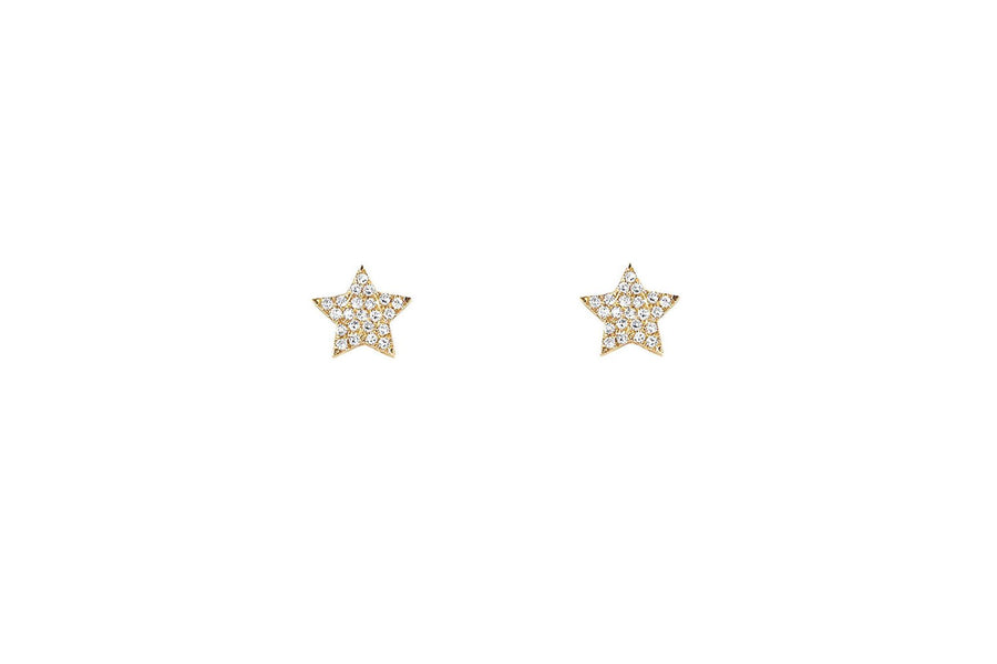 Diamond Star Stud Earring