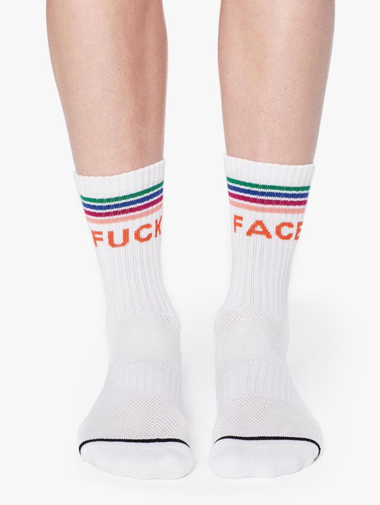 FF Baby Steps Socks - RAINBOW FADE