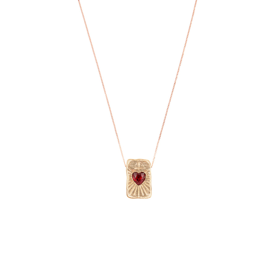 L'Amour Garnet Necklace