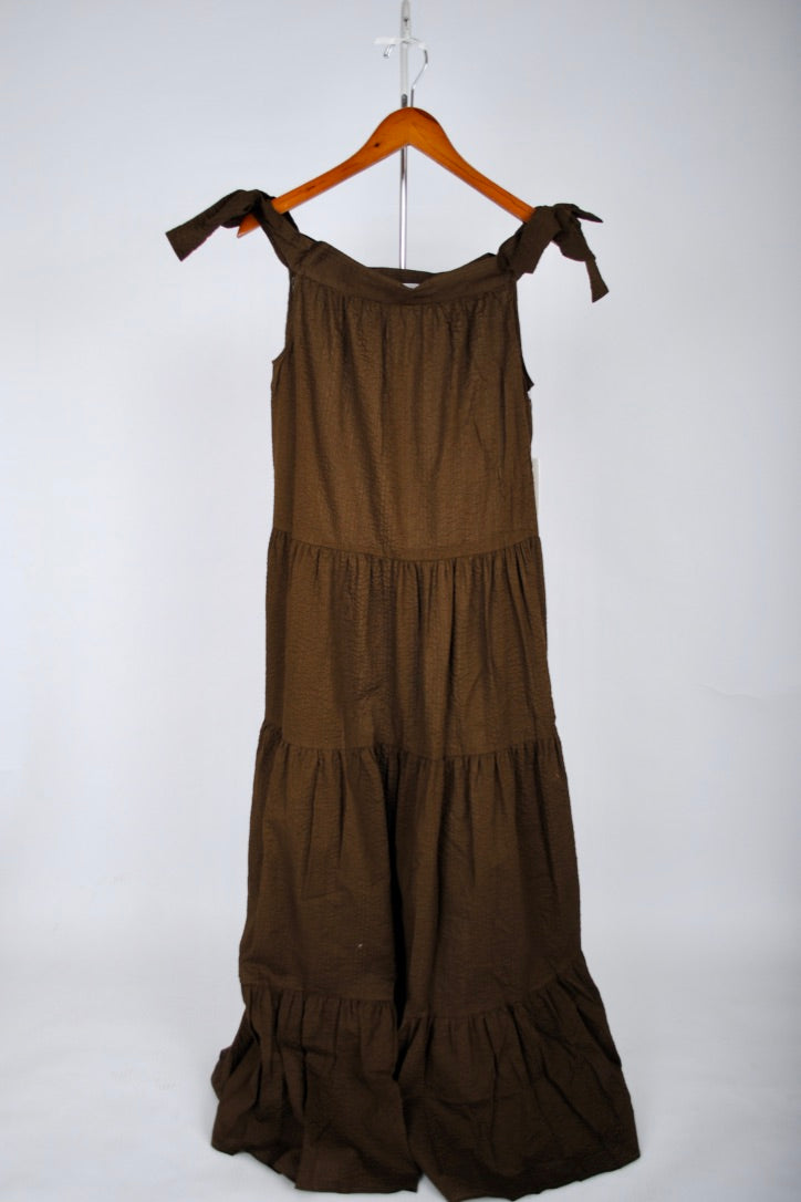 Starfish Dress - Dark Earth