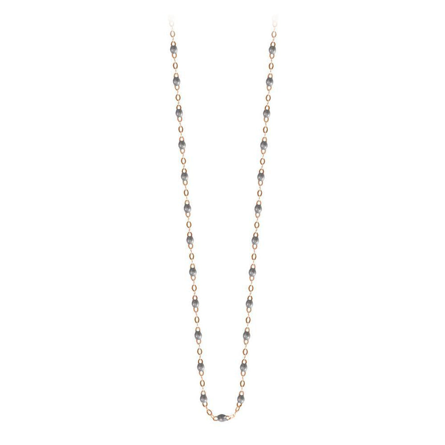 "16.5"" Classic Gigi Necklace - SILVER + YELLOW GOLD"