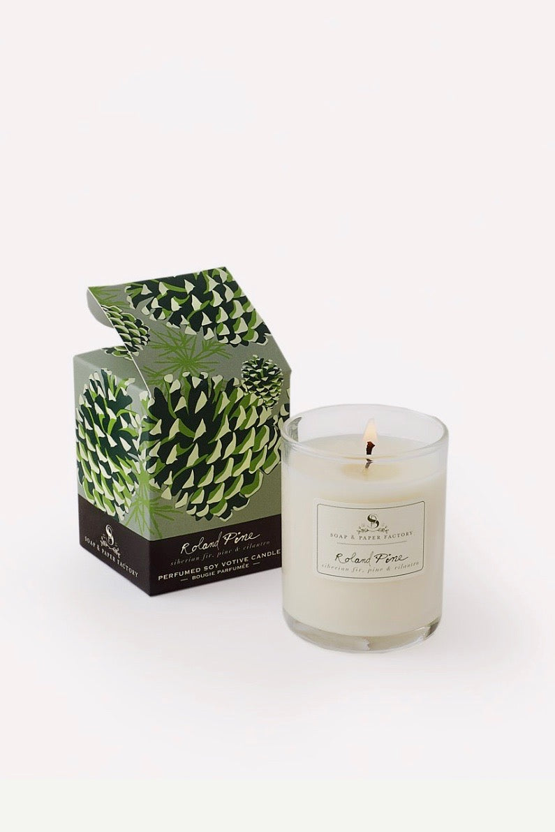 Roland Pine Votive (2.4 oz.) Soy Candle
