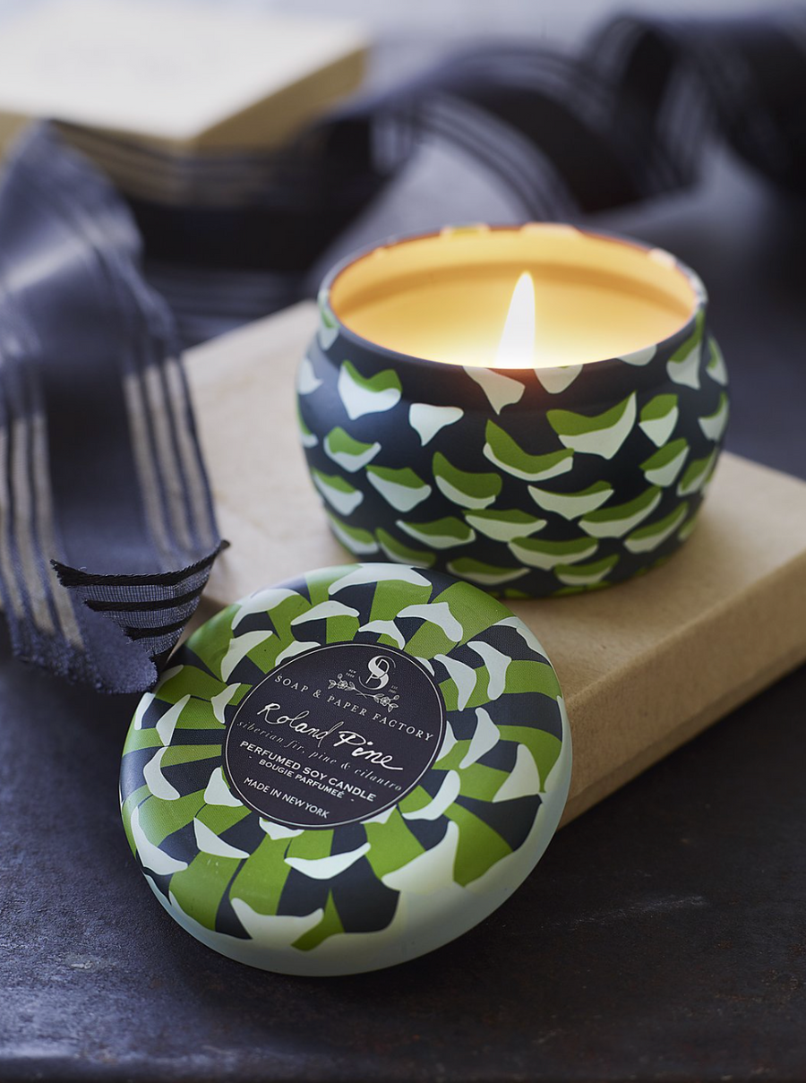 Roland Pine Small Tin (3 oz.) Soy Candle