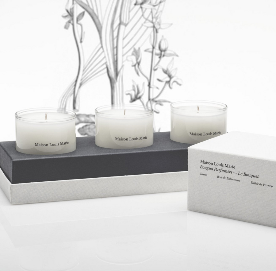 Le Bouquet - Candle Gift Set
