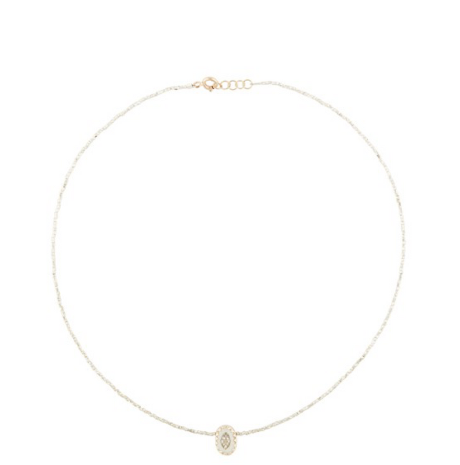 MONTAUK WHITE DIAMOND Necklace