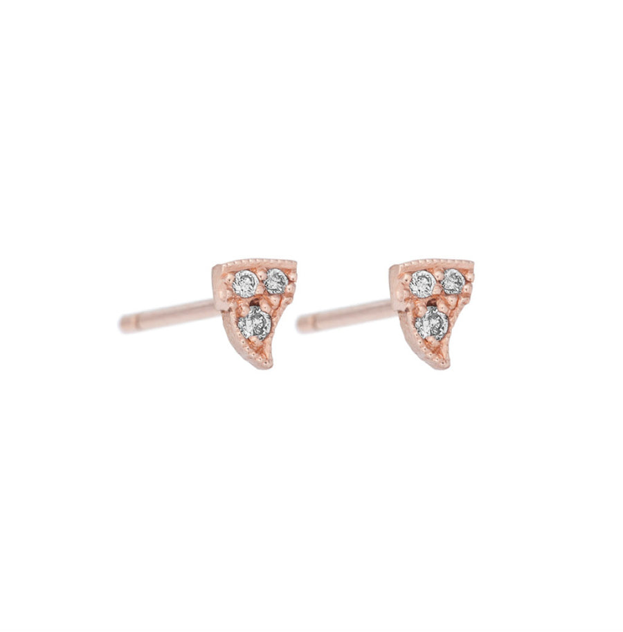 Just a Petit Thorn with Diamond Studs