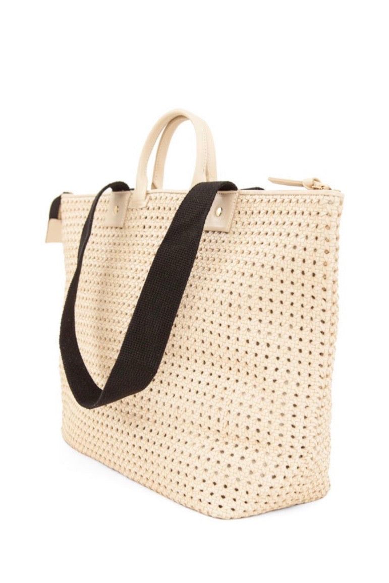 Le Zip Sac - CREAM RATTAN