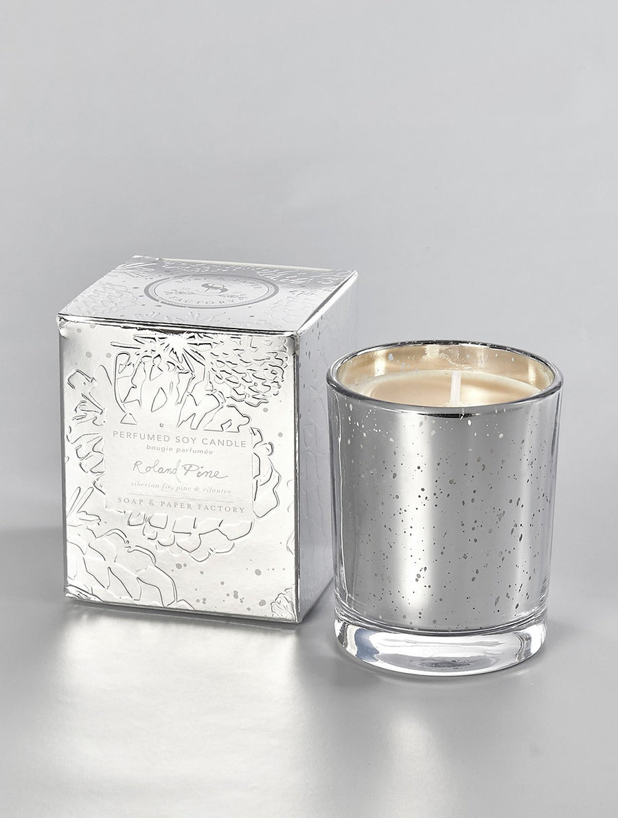 5.2 oz Roland Pine Lumiere Single-Wick Soy Candle