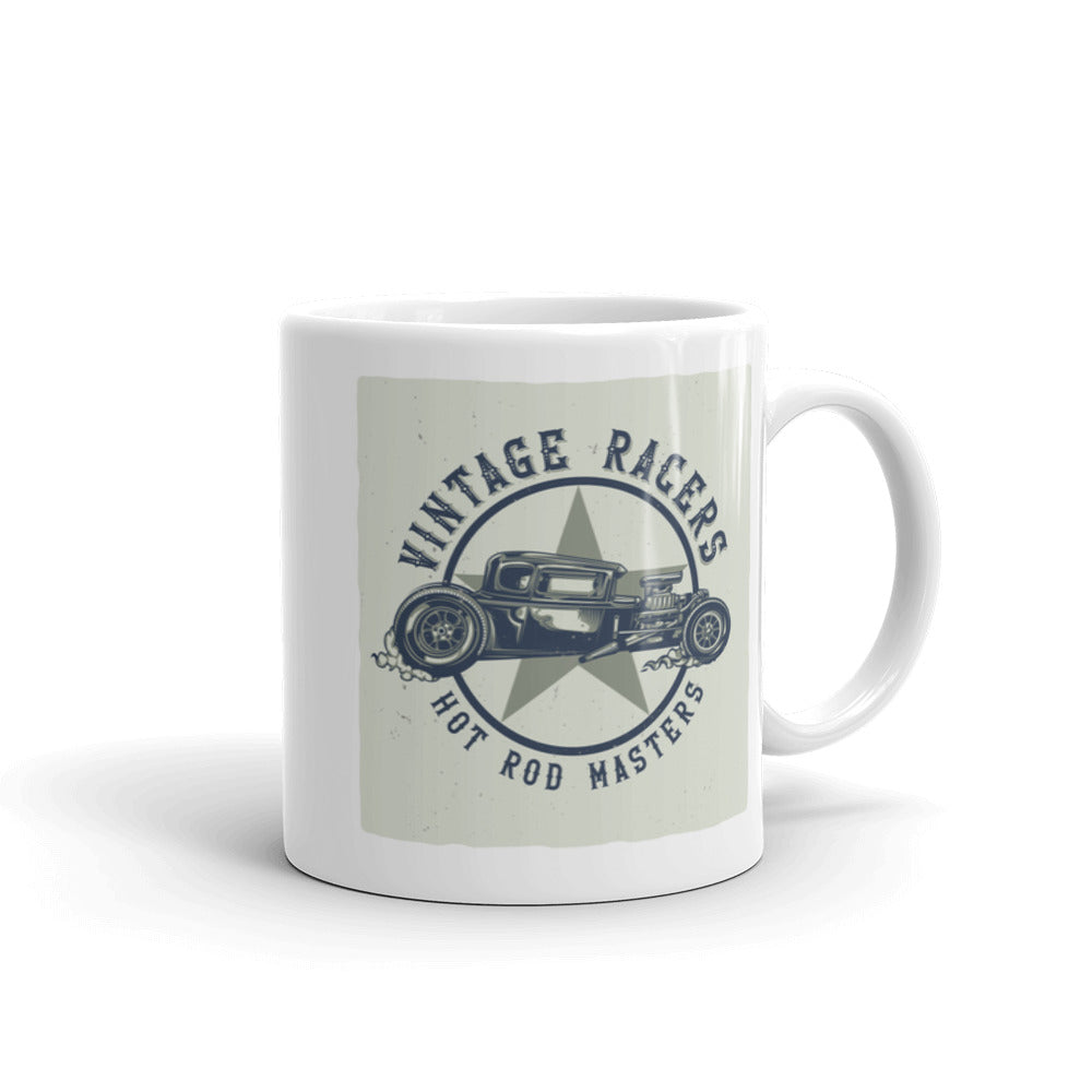 Vintage Racers Hot Rod Masters - Coffee Mug - SpuzzosDeals