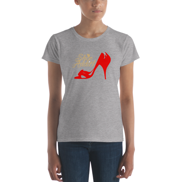 Shoe Addict Women's t-shirt - SpuzzosDeals
