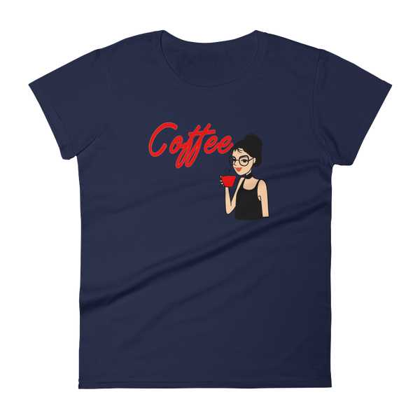 Coffee Women's t-shirt - SpuzzosDeals