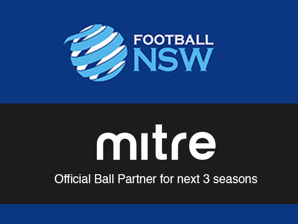 Mitre Australia & Football NSW partnership
