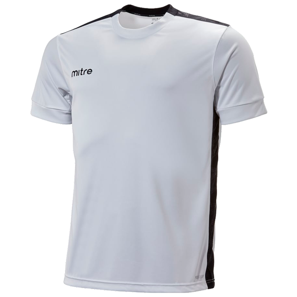 Mitre Charge Jersey - WHT/BLK