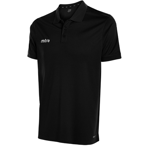 Mitre Edge Polo - BLACK