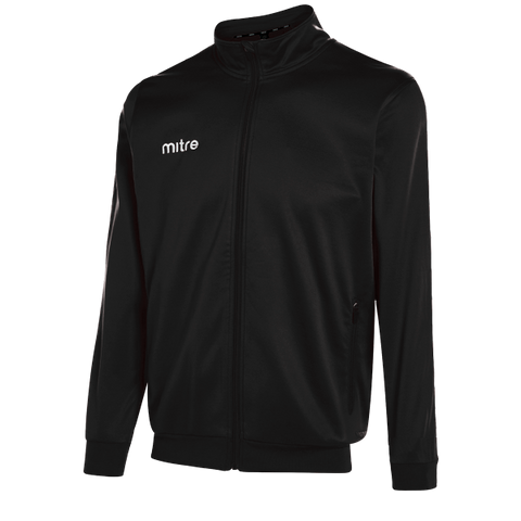 Mitre Edge Track Jacket - BLACK